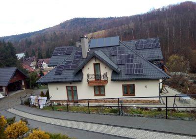 Instalacja kierunek południe o mocy 2.2 kWp