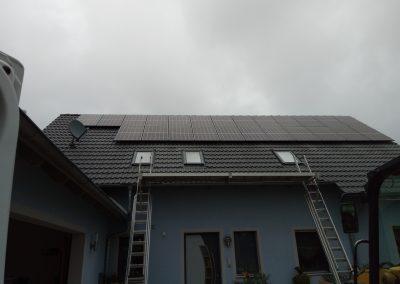 Instalacja kierunek - południe o mocy 7.6 kWp