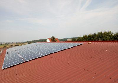 Instalacja kierunek - południe o mocy 29.7 kWp