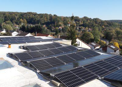 Instalacja kierunek - wschód-zachód o mocy 28,8 kWp
